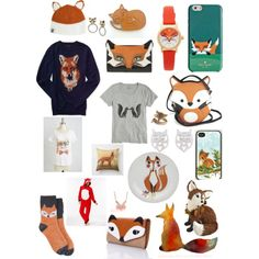 Fox by rose34010 on Polyvore featuring polyvore, fashion, style, Aéropostale, J.Crew, PJ Couture, Liquorish, Kate Spade, Lady Fox and Palm Beach Jewelry