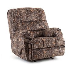 Look! It's a recliner kinda like Phil Robertson's on Duck Dynasty! I want one of these!