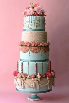 Beautiful  #weddingcake