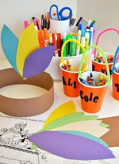 Thanksgiving Kids Table Activities