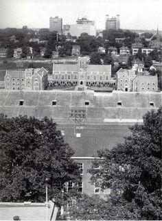1933 photograph of Grant Field at Georgia Tech!