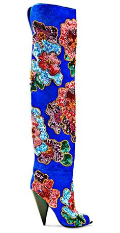 tom ford beaded over-the-knee boots