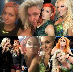 Becky Lynch & Charlotte Flair Charlotte Flair Wwe, Becky Wwe, Wwe Sasha Banks, Rebecca Quin, Wwe Female Wrestlers, Wwe Stuff, Royal Rumble, Becky Lynch, Wwe Womens
