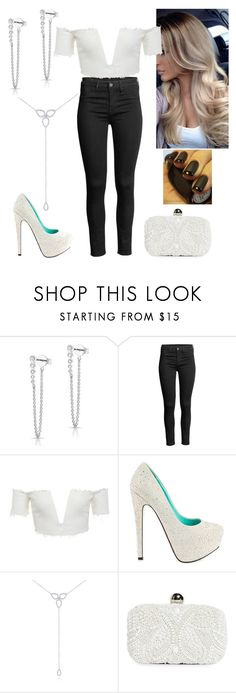 """W&B"" by paoladouka on Polyvore featuring Anne Sisteron, TaylorSays, KC Designs and Santi"