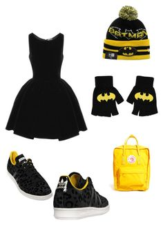 Batgirlstyle ?! by cocomarie12 on Polyvore featuring polyvore, fashion, style, Alaïa, adidas and Fjällräven
