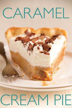 Caramel Cream Pie Recipe
