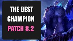 THE BEST CHAMPION PATCH 8.2 SEASON 8   League of Legends   Nunu   Insane... Season 8, League Of Legends, Champion, Good Things, Youtube, League Legends, Youtubers, Youtube Movies