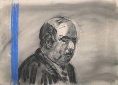 William Kentridge, Drawing from Stereoscope, 1999