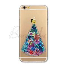 Cute Christmas Soft Phone Cover Case For iPhone 7 6 5 SE 4 Present Animal Tree Hat Cat Capa Celular Iphone 4s, Cover, Phone Cases, Pattern, Christmas, Xmas, Patterns, Navidad, Noel