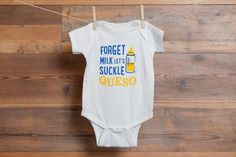 Fun onesies from the Mommy's Lonestar Collection by No. 4 St. James.
