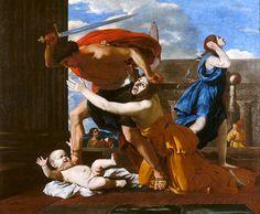 Nicolas Poussin, Le massacre des Innocents (Vers 1628) on ArtStack #nicolas-poussin #art