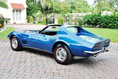 1968 Chevrolet Corvette Classic Corvette, Corvette For Sale, Brake Calipers, Corvettes, Get Directions, Sexy Cars, Automatic Transmission, Chevrolet Corvette, Muscle Cars
