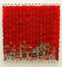 Jacob Hashimoto, Overgrown with Osiers, (2009)