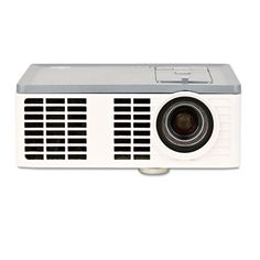 Super bright lightweight portable projector with 300 lumens for screens up to 80.