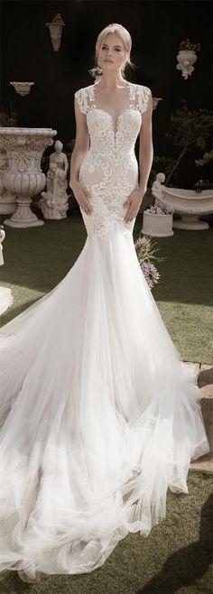 Naama and Anat Fall/Winter 2016 Wedding Dresses   http://www.deerpearlflowers.com/naama-anat-fallwinter-2016-wedding-dresses/