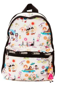 79821a4a74817 The Basic Backpack With Charm In Around The World