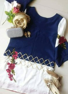 Girls Dresses Sewing, Stylish Dresses For Girls, Little Girl Dresses, Simple Dresses, Stylish Girl, Fancy Dress Design, Stylish Dress Designs, Simple Pakistani Dresses, Pakistani Dress Design