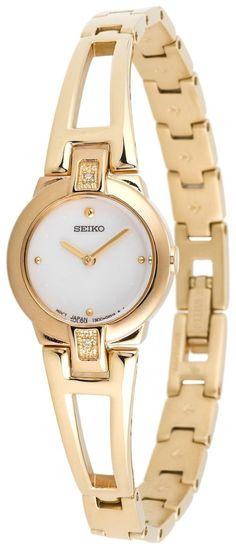 Seiko Women's Gold Watch by Webinaut