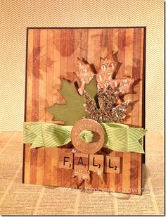 Fall Foliage by Spellbinders