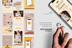 Artist podcast stories posts keynote by rivatxfz on @creativemarket Instagram Design, Instagram Story, Instagram Feed, Company Presentation, Social Media Template, Editing Pictures, Ig Story, Banner Template, Keynote Template