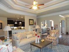 Family Room in Grace Magnolias in Spanish Fort, Alabama