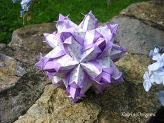Origami ❀ Tulip ❀ Kusudama