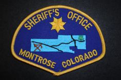 Montrose County Sheriff Patch, Colorado (Current Issue)