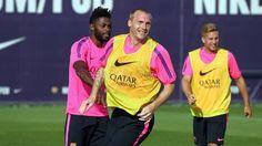 Entrenamiento tarde 25/7/14 | FC Barcelona
