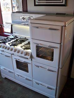 vintage kitchen stove