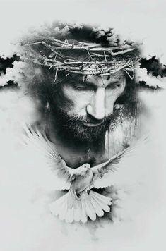 Come Christ Christ - Tattoo ideas - - - Religion Tattoos, Images Du Christ, Pictures Of Jesus Christ, Jesus Drawings, Tattoo Drawings, Jesus Art, God Jesus, La Familia Tattoo, Afrika Tattoos