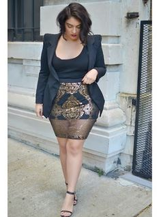 Plus Size Fashion Look