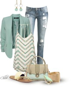 """Spring Fresh"" by chloe-813 on Polyvore"