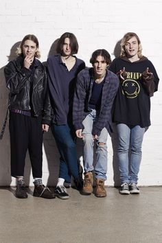 Swim Deep have similar indie roots to King Krule and have the same kind of fashion sense