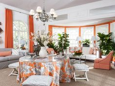 Dp-eclectic Living-rooms from DC Design House on HGTV