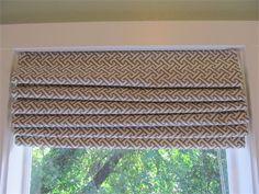 DIY Roman Shades from Mini Blinds | Simply Mrs. Edwards --  Demetrius room