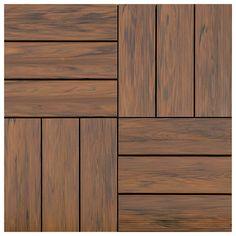 Order Pravol Interlocking Deck tiles/ Teak / / Interlocking deck tile, delivered right to your door. Exterior Wall Tiles, Wall Cladding Tiles, Exterior Wall Cladding, Wood Cladding, Wood Floor Texture, Brick Texture, Tiles Texture, Wall Texture Design, Wooden Floor Tiles