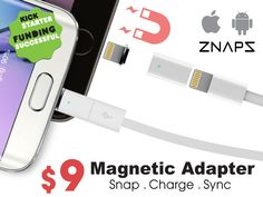 ZNAPS -The $9 Magnetic Adapter for your mobile devices Project-Video-Thumbnail