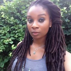 My locs! (Beautiful girl!) #dreadstop - We are Live at www.DreadStop.Com