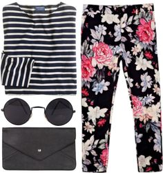 """""""Patterns"""" by luxe-ocean ❤ liked on Polyvore"""