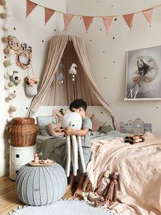 Inspire Me Home Decor, Girl Nursery, Nursery Ideas, Kids Bedroom, Kids Rooms, Hanging Chair, Toddler Bed, House, Furniture