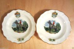 Vintage DUCHESS Bone China Coasters (2 ) England Royal Canadian Mounted Police #BioneChina   Please RePinit & Thanks
