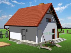 Zdjęcie projektu Deko w2 KRT1022 Home Fashion, House Plans, House Styles, Outdoor Decor, Design, Home Decor, Houses, Deco, Projects