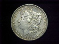 1878 CC Morgan Silver Dollar Scarce 1st Year Carson City Coin XF Condition | eBay
