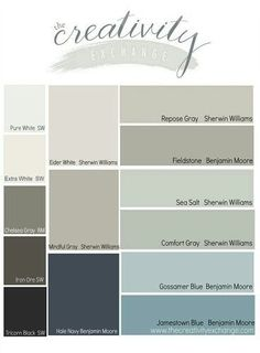 Sea salt & comfort color for dining/living room and fieldstone for kitchen??
