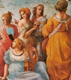 1508 Raphael - lady with mask