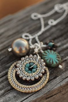 *Lovely Clusters - The Pretty Blog: Featuring: Octavia Bloom Jewelry