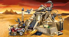 LEGO.com Pharaohs Quest : Products - Pharaohs Quest - 7327