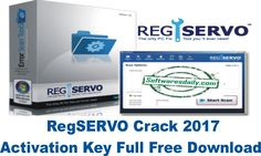 RegSERVO Crack 2017 Activation Key Full Free Download
