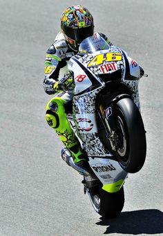 and on the seventh day we race, f1championship:    Valentino Rossi