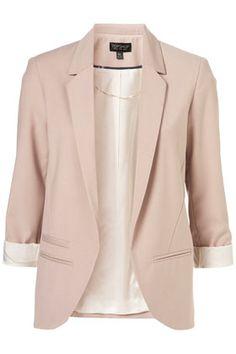 pink/nude blazer
